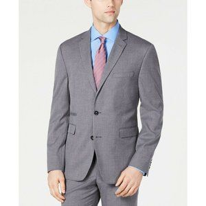 Vince Camuto Slim-Fit Stretch Gray Suit Jacket